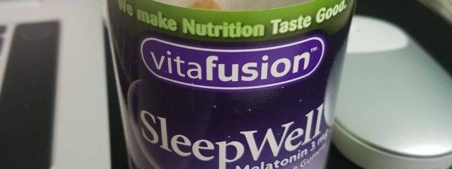 vitafusion 褪黑素软糖效果持续更新